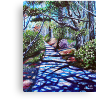 'THE WALK AROUND BROYHILL PARK (#2)'  Canvas Print