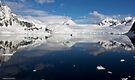 Reflecting on Antarctica 024 by Karl David Hill
