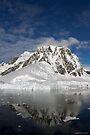 Reflecting on Antarctica 027 by Karl David Hill