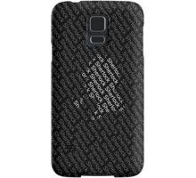 Sherlock Holmes Shadow Samsung Galaxy Case/Skin
