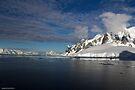 Reflecting on Antarctica 030 by Karl David Hill
