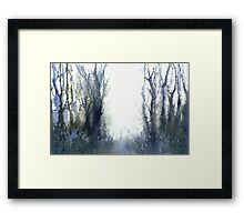 Perfect Day I - Stag at Dawn (Original sold) Framed Print