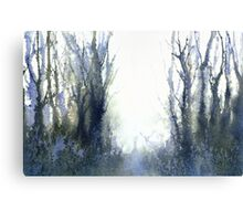 Perfect Day I - Stag at Dawn (Original sold) Canvas Print