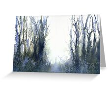 Perfect Day I - Stag at Dawn (Original sold) Greeting Card