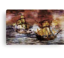 Corsairs Canvas Print