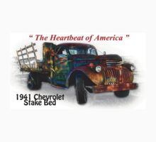 """41 Chevrolet Stake Bed - Creative Clothing by Michael """" Dutch """" Dyer"""