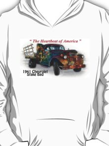 41 Chevrolet Stake Bed - Creative Clothing T-Shirt