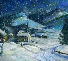 Winter in Vermont by Susan  Kimball