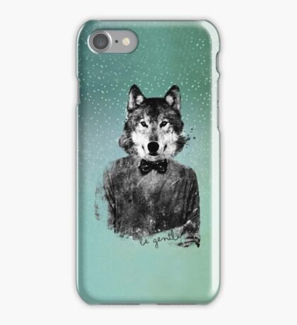 Be gentle iPhone Case/Skin