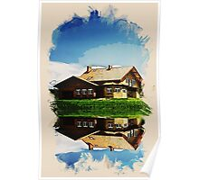 summer cottage by the lake2 Poster