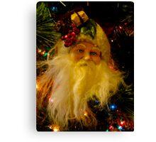 Ho Ho Ho, Merry Christmas Canvas Print