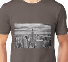 Winter Storm over Midtown Unisex T-Shirt