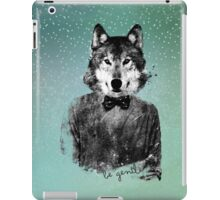 Be gentle iPad Case/Skin