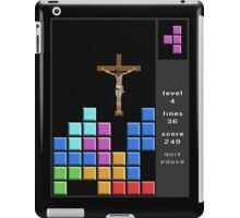 Jesus At Just The Right Time iPad Case/Skin