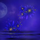Blue Moon  by Elaine  Manley