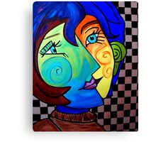 PICASSO PAINTING BY NORA Canvas Print