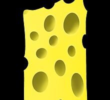 Cheese with holes by CatchyLittleArt