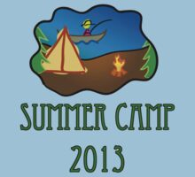 summer camp 2013 truck stop novelty tee by Tia Knight