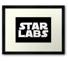 Star Labs - Star Wars Text Framed Print