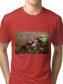 Vileplume and Skiploom Tri-blend T-Shirt