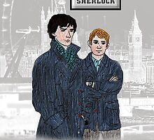 Sherlock-London Background by ChrisNeal