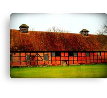 Barns Canvas Print