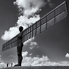 Angel of the north by Graham McAndrew