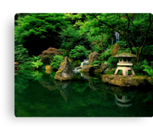 Japanese Serenity ~ Part One Canvas Print