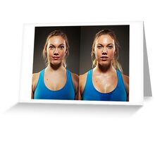 Before After Sport Series Greeting Card