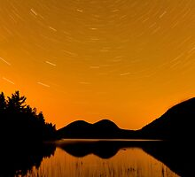 Star Trails over Acadia by Brian Winshell