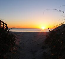 Through the Dunes to the Sunrise by Itsmyname10