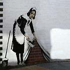 Banksy maid  by areyarey