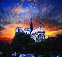 NotreDome Paris 2 by Adam Asar