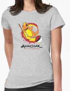 Avachar- The last Firebender Womens Fitted T-Shirt