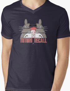 Totoro Recall Mens V-Neck T-Shirt