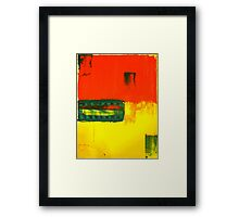 Primary Fusion Framed Print