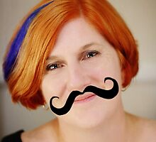 Rosemary grows a Mo for Movember by Redbubble Community  Team