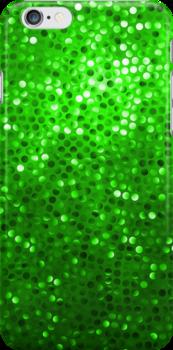Green Glitter Pattern Texture by artonwear