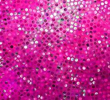 Pink Glitter Pattern Texture by artonwear
