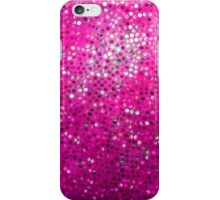 Pink Glitter Pattern Texture iPhone Case/Skin