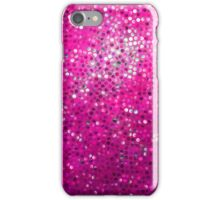 Pink Glitter Pattern Texture iPhone Case/Skin