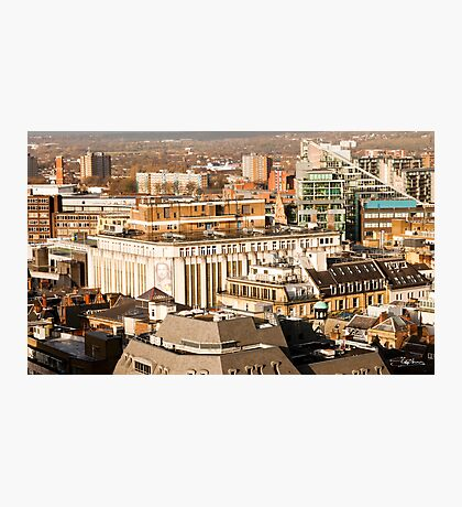 Manchester's Rooftops Photographic Print