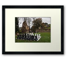 Game of the history Framed Print