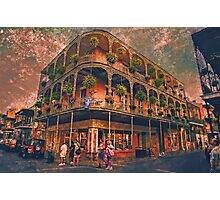 Saint Philip and Royal streets in French Quarter New Orleans Photographic Print