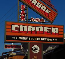 Drunk Corner Bar, Kalamaki, Zante by wiggyofipswich