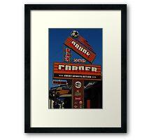 Drunk Corner Bar, Kalamaki, Zante Framed Print