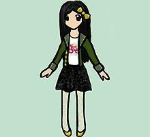 Erin Chibi Girl by Elaine Cao