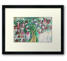 Angelic Protection Framed Print