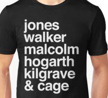 Jessica Jones characters Unisex T-Shirt