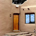 Adobe Door by Kimberly Miller